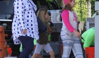 Melissa McCarthy's Girls Day With her Kids