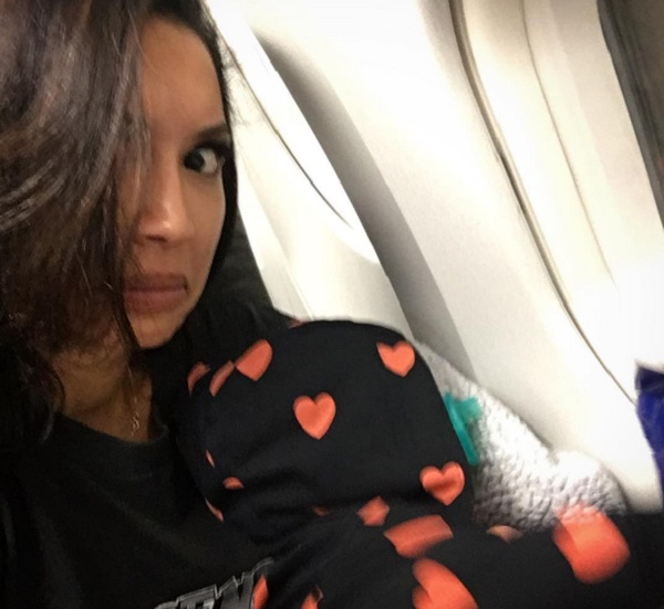 Naya Rivera Takes Son Josey On Airplane For First Time