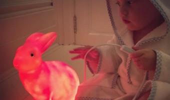 Liv Tyler's Son Sailor Gene Shows Off His Bunny Nightlight