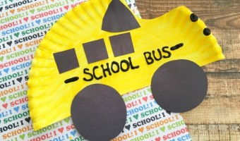 Back-to-School: Yellow School Bus Craft