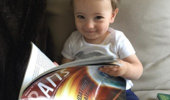 Ginger Zee's Baby Adrian Benjamin Is Already Studying Meteorology!