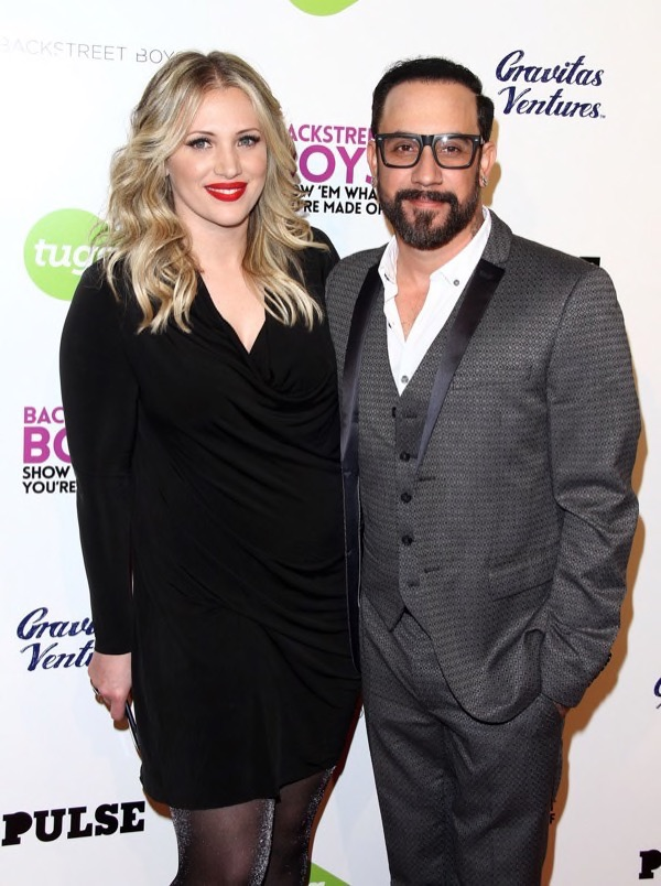 A.J. McLean is Going to Be a Dad Again