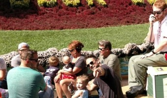 General Hospital Stars Kirsten Storms and Brandon Barash At Disneyland With Daughter Harper Rose