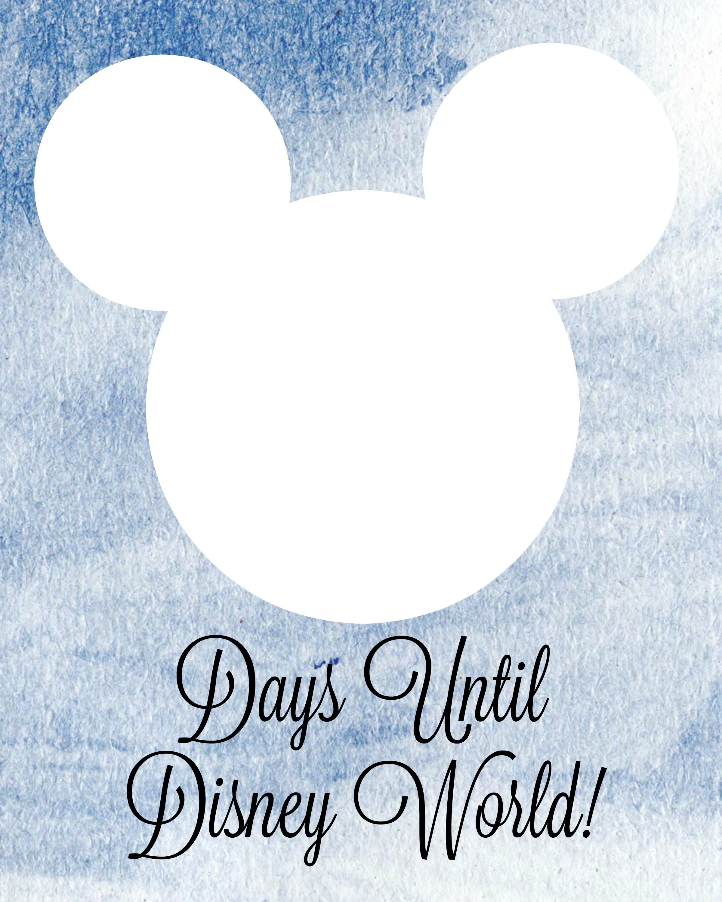 6 Fun Ways to Countdown to Your Trip to Disney - Countdown Printable
