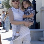 Gwen Stefani Attends Church With her Boys