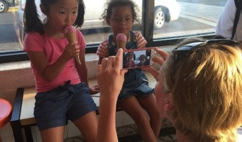 Josh Kelley And Pregnant Katherine Heigl Take Their Daughters Out For Ice Cream