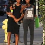Kelly Rowland Enjoys a Day With Son Titan