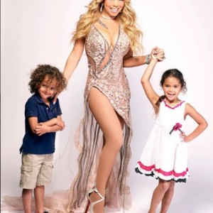 Mariah Carey Shares a Family Portrait