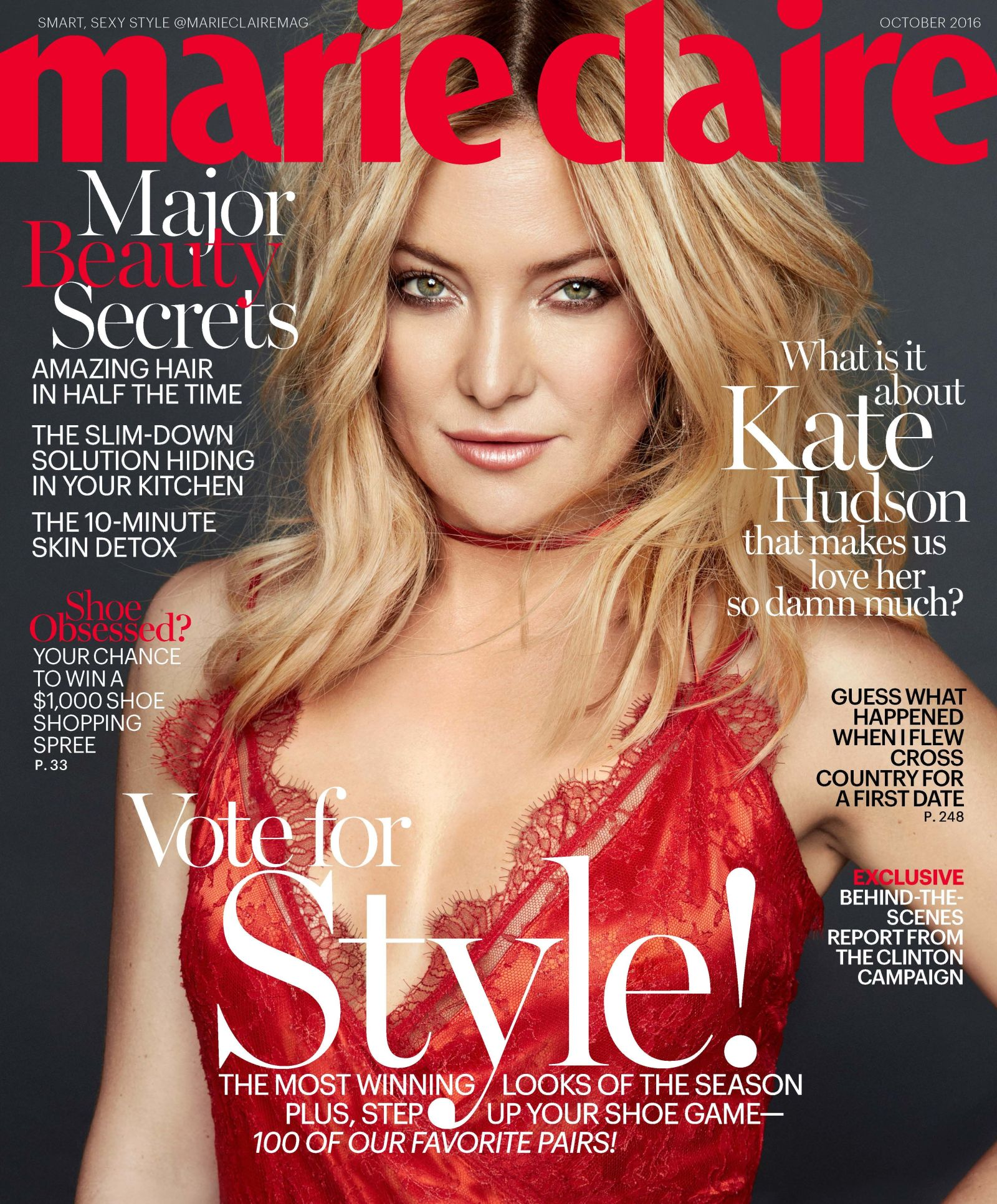 Marie Claire - Kate Hudson