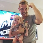 Nick Carter & Odin Cheer on Tampa Bay Buccaneers