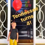 Reese Witherspoon's Son Tennessee Turns Four