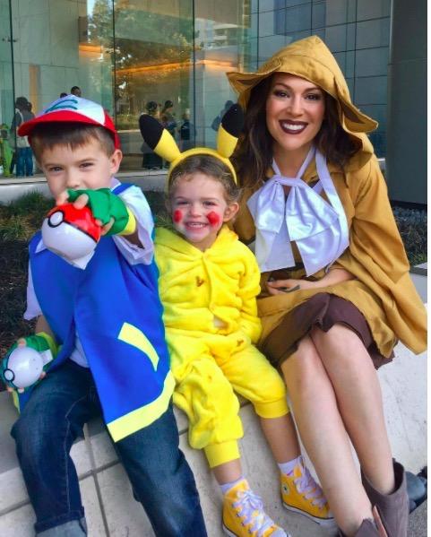 Alyssa Milano Family S Pokemon Halloween Celeb Baby Laundry