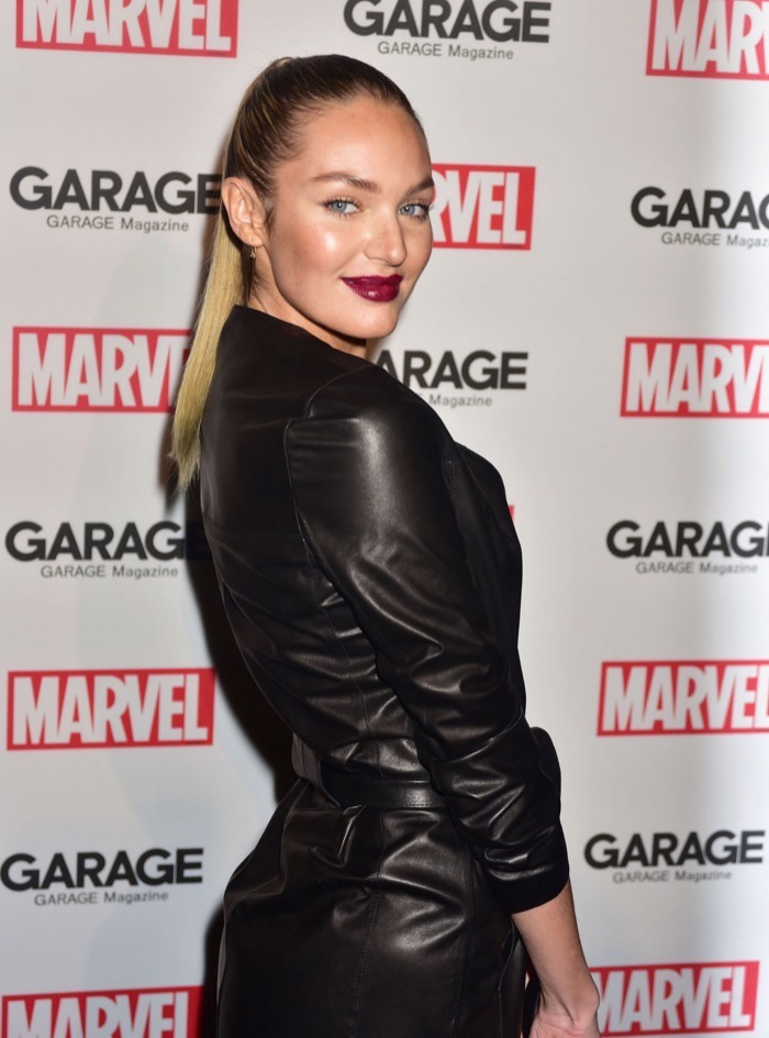 Candice Swanepoel Gives Birth