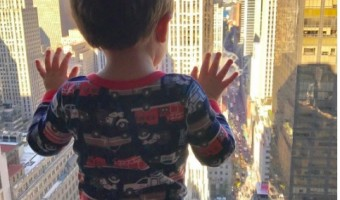 Carrie Underwood's Son Isaiah Takes in NYC