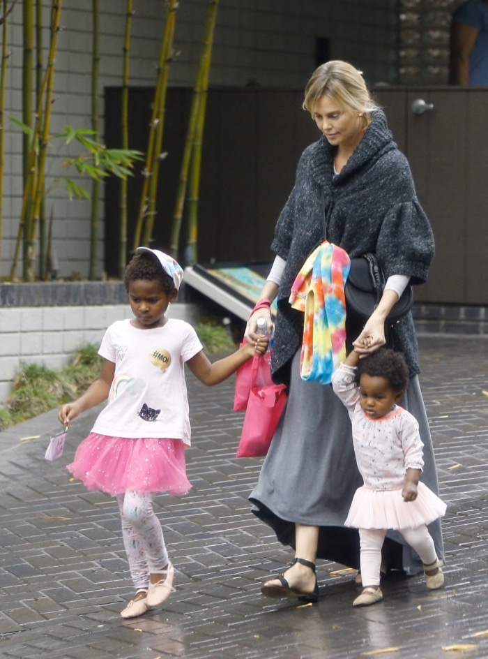 Charlize Theron As A K... Charlize Theron Children