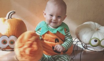 Louis Tomlinson's Son Freddie Makes An Adorable Pumpkin