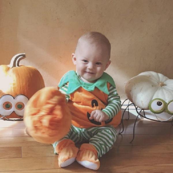 Louis Tomlinson's Son Freddie Makes An Adorable Pumpkin