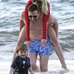 Jaime King Vacations in Maui With Family