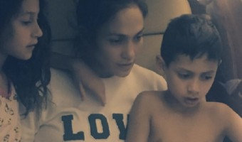 Jennifer Lopez Shares Sweet Moment With Twins Emme and Max