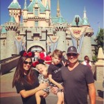 Nick Lachey & Family Visit Disneyland
