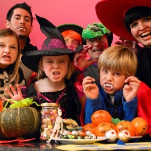 Throw a Halloween Kids Movie Bash