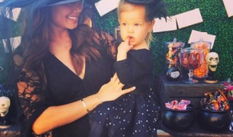 Pregnant Vanessa Lachey & Family Throw Halloween Party