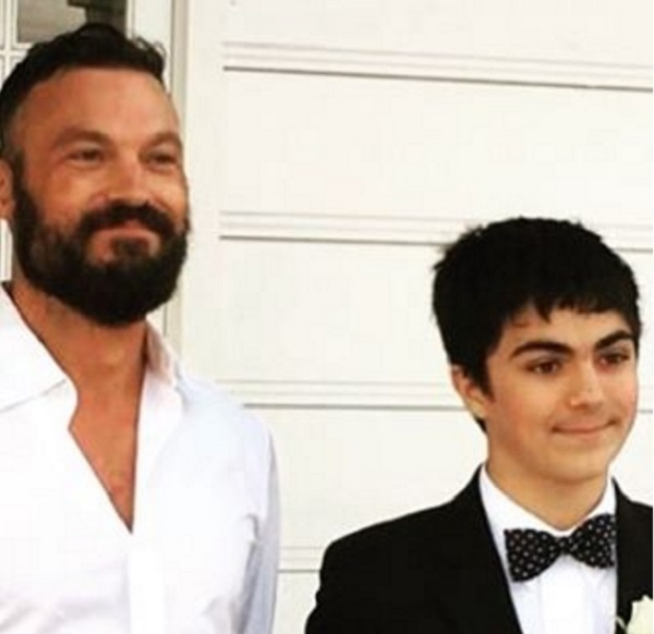 Brian Austin Green And Vanessa Marcil's Son Kassius Is All Grown Up