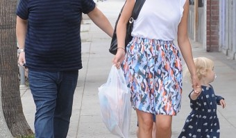 James Cordon Shops With Family