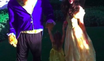 Channing Tatum Had Two Belle's For Halloween