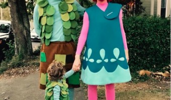Jessica Biel & Justin Timberlake are Trolls for Halloween