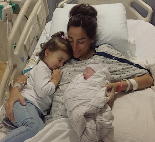 Danielle Jonas Shares First Photo Of Baby Valentina Angelina