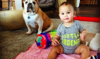 Chrissy Teigen Shares Shot of her Little Legend