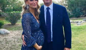 Pregnant Molly Sims Dresses Up Her Bump In Blue