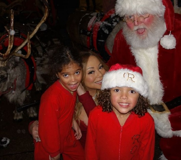 Mariah Carey's Twins Had A Merry Christmas