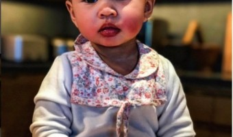 Chrissy Teigen Share Shot of her Little Lemon