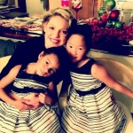 """Pregnant Katherine Heigl Shares Sweet Video Of Her """"Daddy's Girls"""" – Naleigh & Adalaide"""