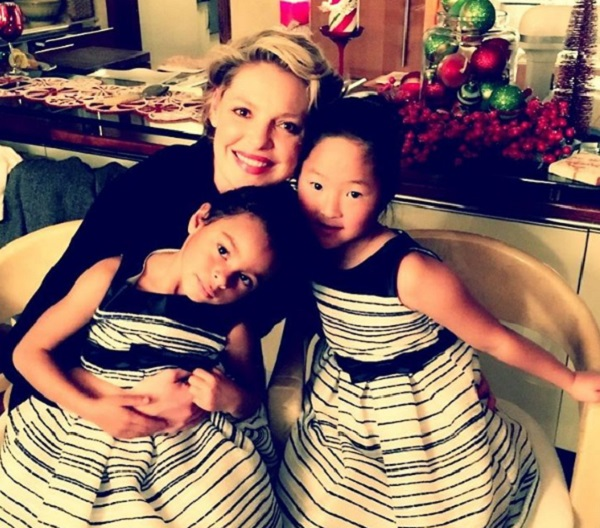 "Pregnant Katherine Heigl Shares Sweet Video Of Her ""Daddy's Girls"" - Naleigh & Adalaide"