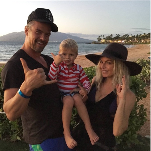Josh Duhamel & Fergie Celebrate their Anniversary With Axl