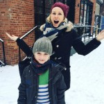 Naomi Watts And Kai Have Fun In The Snow