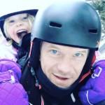 Neil Patrick Harris Takes Daughter Harper Snow Tubing