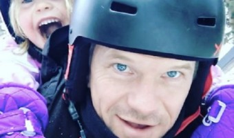 Neil Patrick Harris Takes Daughter Harper Snow Tubing