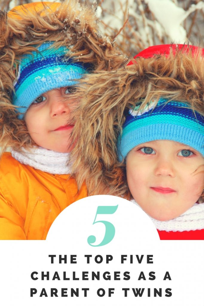 The Top Five Challenges as a Parent of Twins