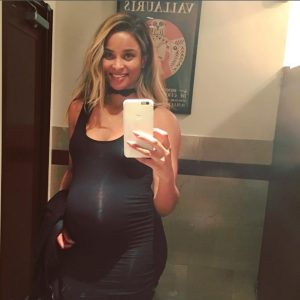 Ciara Shows off Valentine's Day Baby Bump