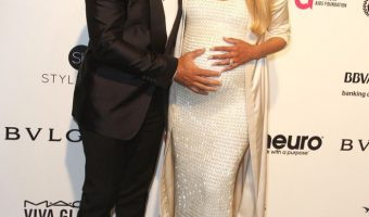 Pregnant Ciara Glows at Elton John Academy Awards Charity Party