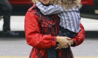 Gwen Stefani Heads to Sunday Service
