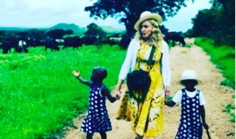 Madonna Adopts Twins Estere & Stelle From Malawi
