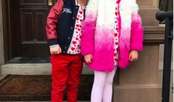 Neil Patrick Harris' Two Adorable Valentines