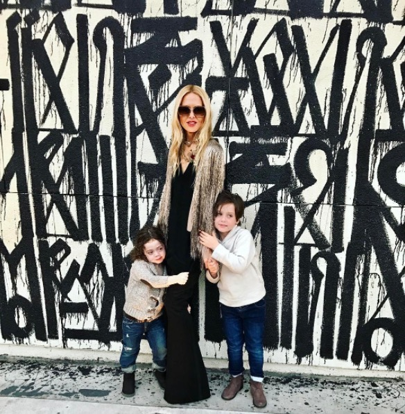 Rachel Zoe Celebrates Anniversary With Kids