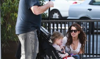 Alec & Hilaria Baldwin Enjoys a Family Day