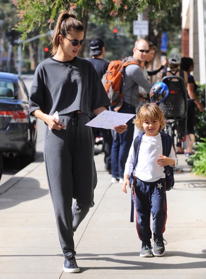 Alessandra Ambrosio Picks Noah Up at Daycare | Celeb Baby ...